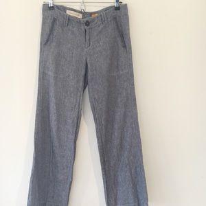 Anthropologie Pilcro Linen/Cotton Jeans